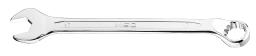 NEO Klucz płasko-oczkowy odgięty spline 17mm (09-467)