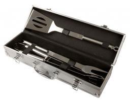 Mastergrill Zestaw akcesoriów do grillowania aluminiowe etui (MG111)
