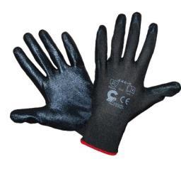 Rękawice robocze Bird czarne 8 (R446CZ8)