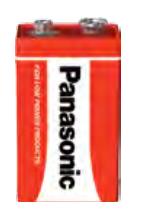 Panasonic Bateria 9V Block 1szt.