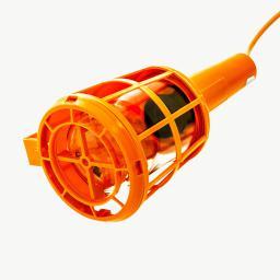 Lena Lighting Lampa warsztatowa Plastic 60W pomarańczowa (000614)
