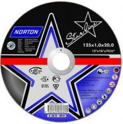 NORTON Tarcza do ciecia Starline Metal A60R-BF41 115x1x22mm (66252837243)