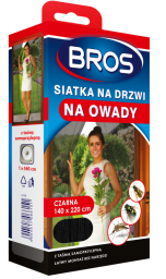 Bros Siatka na drzwi 140 x 220xm białą (021)