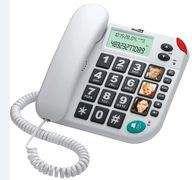 Telefon przewodowy Maxcom KXT 480 Biały