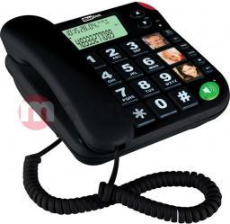 Telefon przewodowy Maxcom KXT 480 Czarny