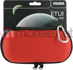 4World etui do konsoli Sony PSP - czerwone (06652)
