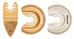 Graphite Zestaw brzeszczotów do ceramiki 3szt. (56H074)