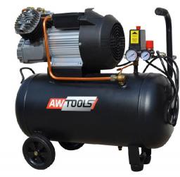 Sprężarka tłokowa AWTools ZVA-50L 8bar 50L (AW10003)
