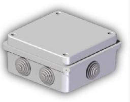 Elektro-Plast Puszka natynkowa EP-LUX PK-4 IP55 135 x 135 x 53mm (0233-00)