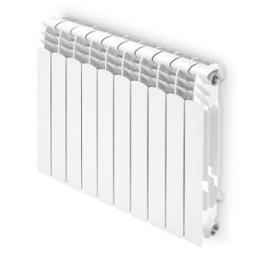 Ferroli Grzejnik aluminiowy Proteo 450 x 100mm rozstaw 350mm 1 żeberko (749045010)