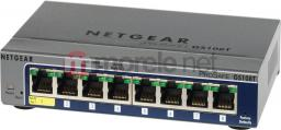 Switch NETGEAR ProSafe Smart 8-Port Gigabit Switch Metal 1xPoE GS108T-200GES