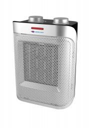 Descon Termowentylator ceramiczny 1500W czarno-srebrny (DA-T183C)