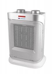 Descon Termowentylator ceramiczny z oscylacją 1500W biało-srebrny (DA-T184CS)