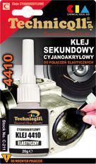 Technicqll Klej sekundowy elastyczny 4410 20g (C-211)
