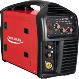 Weldman Półautomat spawalniczy inwertorowy MIDI MIG 220A 230V (103 111)