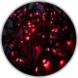 Lampki choinkowe Volteno LED na kabel czerwony 200szt. (VO0496)