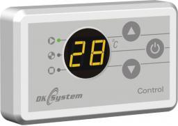 DK System CONTROL - panel pokojowy do sterowania regulatorem pracy kotła lub pomp (109011)