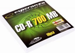 Esperanza CD-R Silver 700MB x56 - Koperta 10