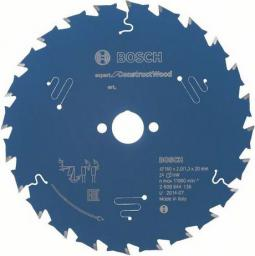 Bosch Tarcza pilarska Expert for Construct Wood 160 x 20mm 24z (2.608.644.136)