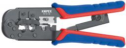 Knipex Szczypce do zagniatania wtyków telefonicznych Western 190mm (97 51 10)