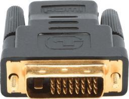 Adapter AV Gembird HDMI - DVI-D czarny (A-HDMI-DVI-2)