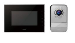 """Legrand Zestaw wideodomofonowy 1-rodzinny z wideofonem lustrzanym 7"""" (369220)"""