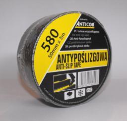Anticor Taśma antypoślizgowa 50mm x 3m czarny (PB-5800001-0050003)