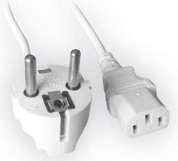 Kabel zasilający Gembird VDE Euro/IEC C13 1,8m (PC-186W-VDE)