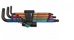 Wera Zestaw kluczy imbusowych hex typ L 1,5-10mm z kulką 9zt. (05022089001)