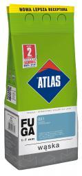 ATLAS Fuga wąska 1-7mm biały 2kg