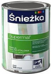Śnieżka Emalia olejno-flatowa Supermal RAL 6002 zielony 0,8L