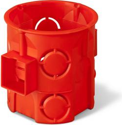 ELEKTRO-PLAST Puszka podtynkowa 60mm głęboka czerwony (0285-00)