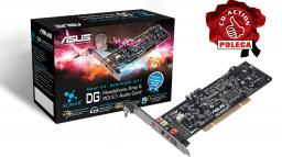 Karta dźwiękowa Asus Xonar DG - karta PCI, System 5.1 - Xonar DG