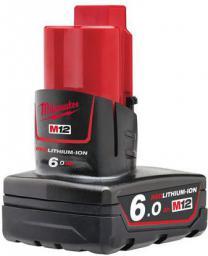 Milwaukee Akumulator M12 B6 12V 6,0Ah (4932451395)