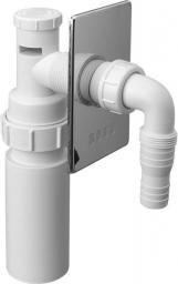 Syfon do pralki i zmywarki McAlpine podtynkowy DN50 chrom (HC14WM50)
