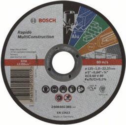 Bosch Tarcza tnąca prosta Rapido Multi Construction ACS 60 V BF 1 x 125mm (2.608.602.385)