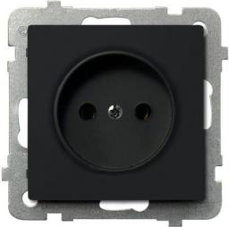 Ospel Gniazdo sonata pojedyncze czarny metalik (GP-1R/m/33)