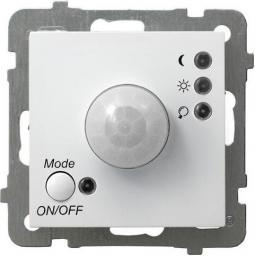 Ospel Elektroniczny czujnik ruchu AS biały (ŁP-16G/m/00)