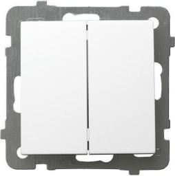 Ospel Łącznik świecznikowy AS biały (ŁP-2G/m/00)
