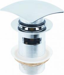 """Hydroland Korek automatyczny klik-klak 5/4"""" duży kwadratowy  chrom (5900308746547)"""
