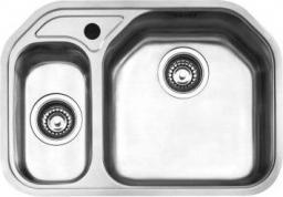 Franke Zlewozmywak 1,5-komorowy bez ociekacza Delta Dex 660 stal szlachetna jedwab (1010168354)