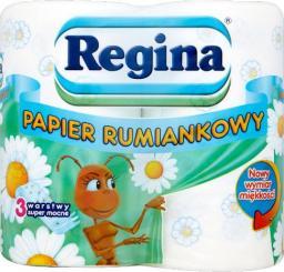Regina Papier toaletowy 3-warstwowy rumiankowy 4szt.