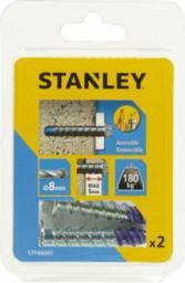 Stanley Śruba metalowa do betonu z końcówką niebieską 8 x 50mm 2szt. (STF46005-XJ)