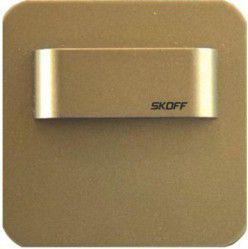 Oprawa schodowa SKOFF Salsa stick short LED mosiądz mat (MS-SST-M-H-1-PL-00-01)
