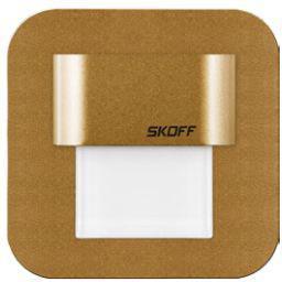 Oprawa schodowa SKOFF Salsa mini stick LED mosiądz mat (MH-SMI-M-H-1-PL-00-01)