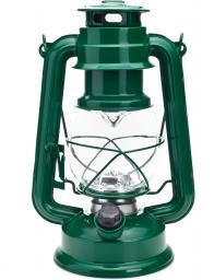 Falcon Eye kempingowa bateryjna Retro 15 LED zielona