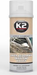 K2 Lakier akrylowy bezbarwny 400mL (L349)