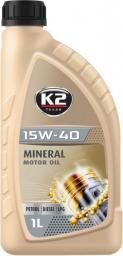 Olej silnikowy K2 Texas mineralny 15W-40 1L