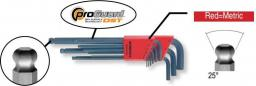 BONDHUS Zestaw kluczy imbusowych hex typ L 1,5-10mm z kulką 90szt. (20999)