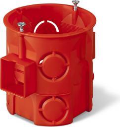 Elektro-Plast Puszka podtynkowa 60mm głęboka z wkrętami czerwona PK-60 PRO (0285-01)